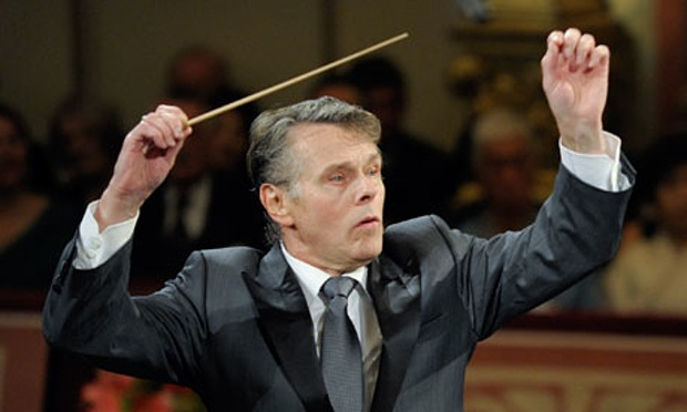 Mariss Jansons conducts Vienna's 2012 new year concert. Photograph: Herbert Neubauer/Corbis