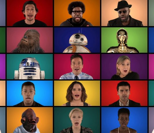 Star Wars Cast Performs A Cappella Version of The Star Wars Soundtrack