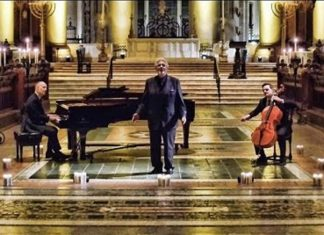 The Piano Guys Perform Silent Night with Plácido Domingo