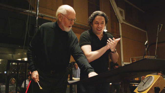 The music director at the Los Angeles Philharmonic, Gustavo Dudamel put in a surprise guest appearance on the Star Wars soundtrack