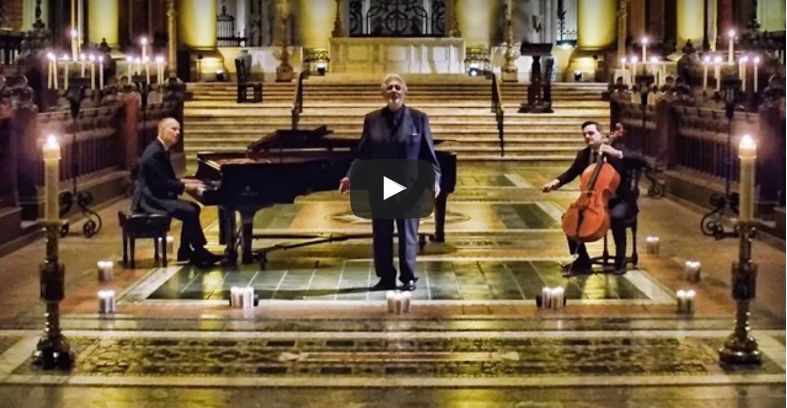 silent night piano guys placido domingo