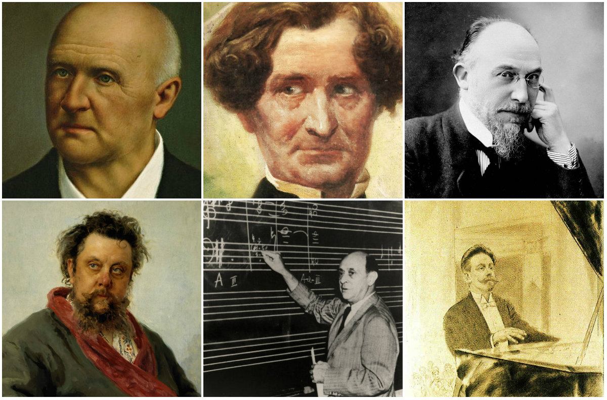 Seven Composers and Their Mental Illnesses