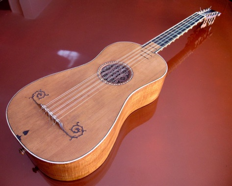 The Sabionari guitar (1679) is one of the five surviving guitars made by Antonio Stradivari. At the present time it is the only playable in the world. Photo: sabionari.com