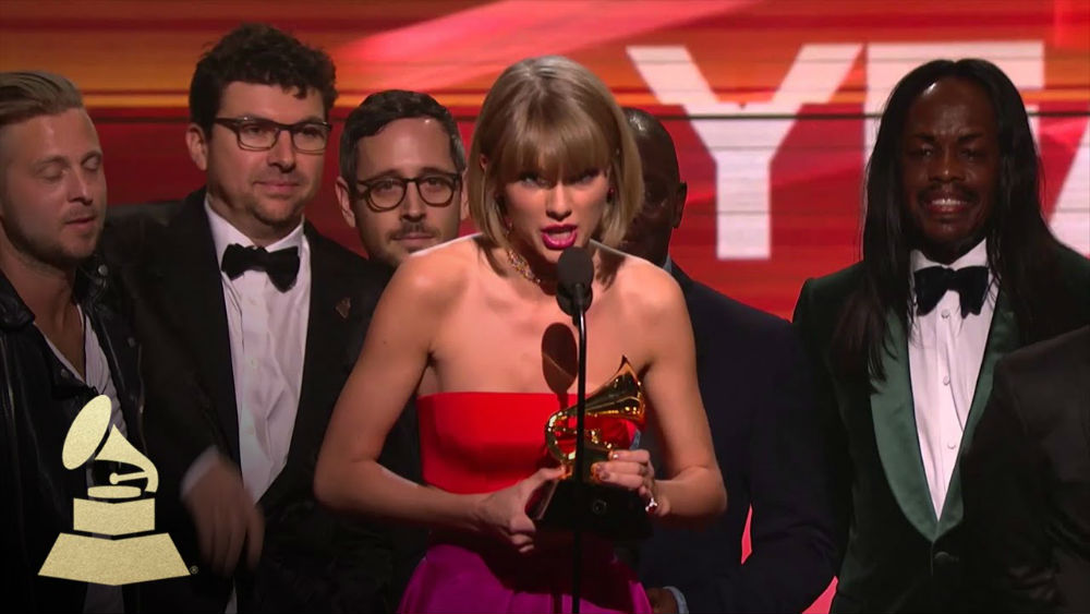 taylor swift grammy album of the year