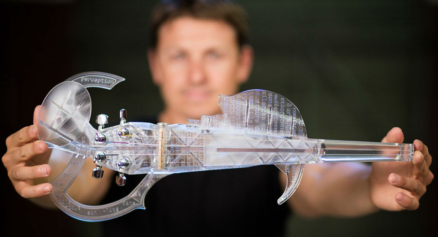 3dvarius violin print copyright Thomas Tetu