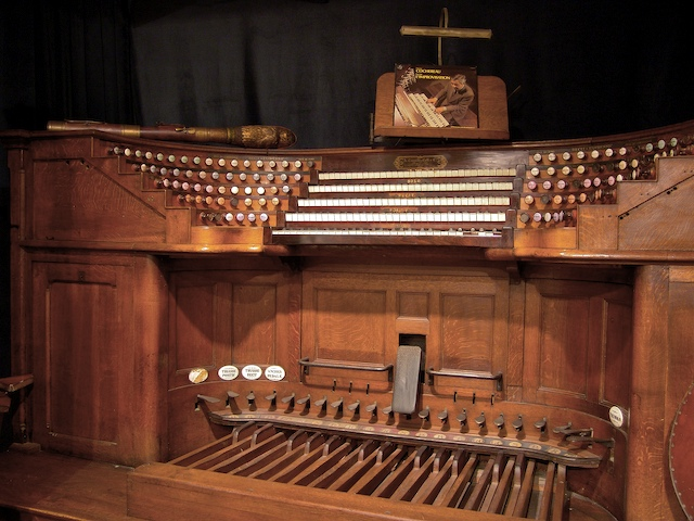 The Cavaillé-Coll organ of Notre Dame © NDP
