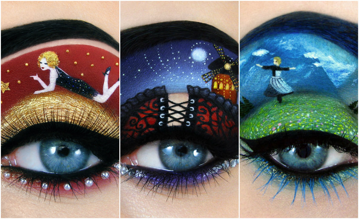 eye makeup musical tal peleg