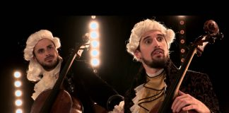 2Cellos combine Led Zeppelin and Beethoven