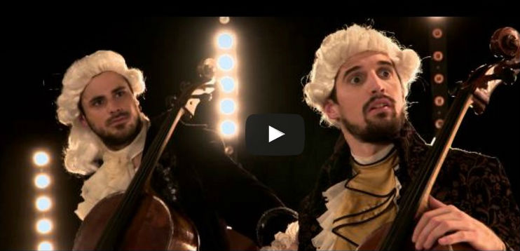 2cellos led zepellin beethoven cover