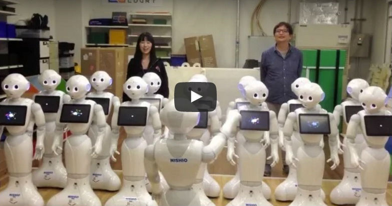 beethoven ode to joy sung by robots