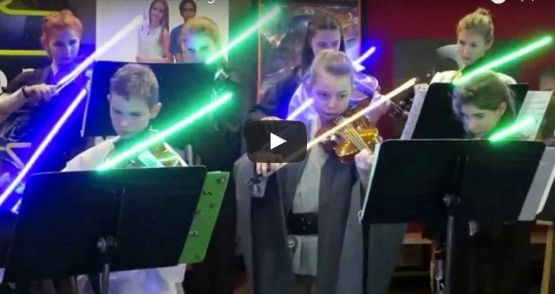 Star wars lightsaber bows