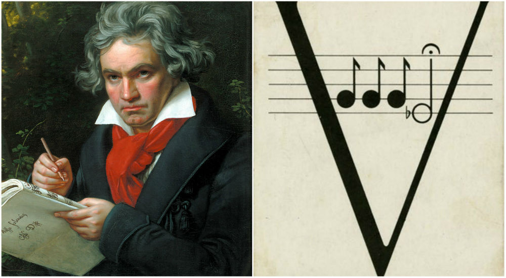 beethoven and morse code