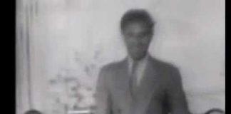 rare footage of Gershwin playing his own 'I got Rhythm'