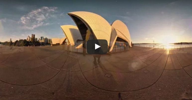 sydney opera house virtual tour google