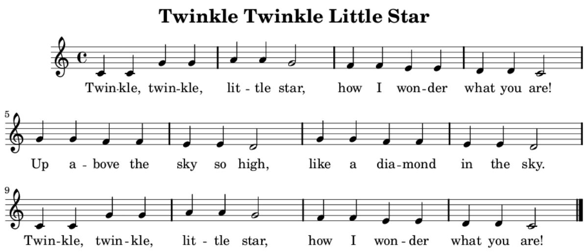 twinkle twinkle little star history