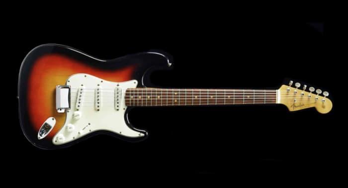 stratocaster guitar bob dylan