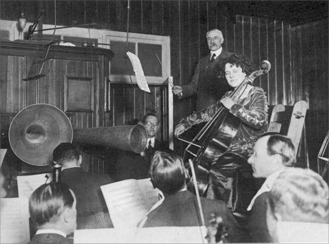 Edward Elgar and Beatrice Harrison