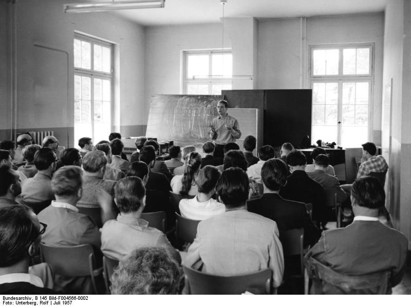 Karlheinz Stockhausen in 1957