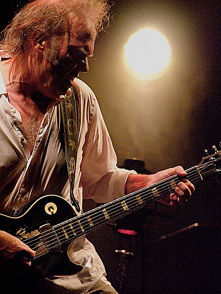 Neil Young in 2008
