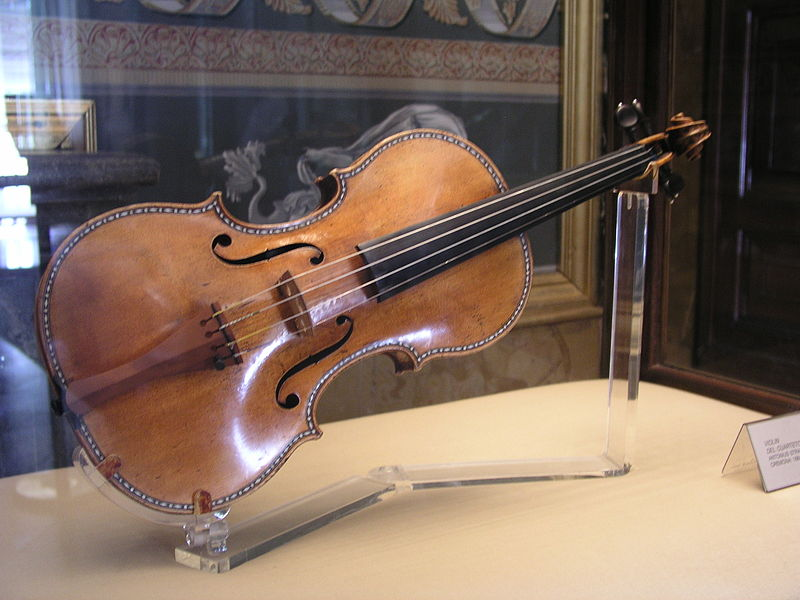 Stradivari violin in Madrid