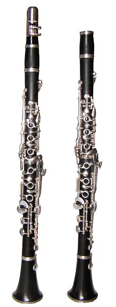 Clarinets. Image credit: Wikimedia Commons