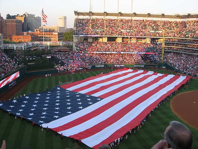 Progressive Field in Cleveland. Image credit: Spencer/Wikimedia Commons