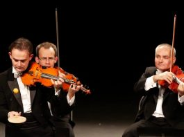 Take a look at how a violinist plays Habanera one-handed