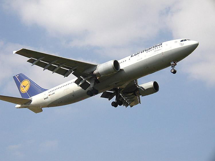 Lufthansa plane