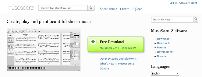 Top 7 Music Notes Websites to Download Free Sheet Music - CMUSE