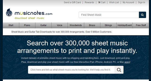 Top 6 Music Notes Websites To Download Free Sheet Music Cmuse