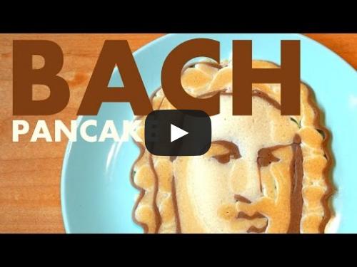 Johann Sebastian Bach Pancake