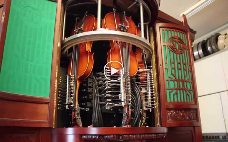 Hupfeld Phonoliszt Violina