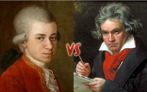 Mozart vs Beethoven