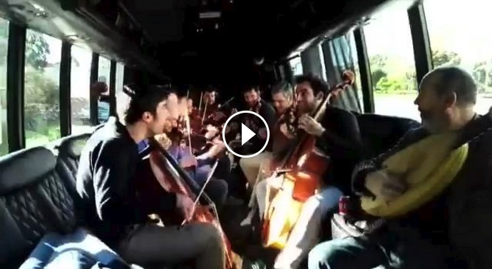 Play Vivaldi on the bus
