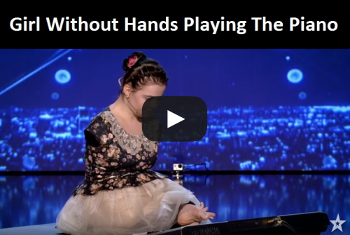 Playing Piano Without Hands