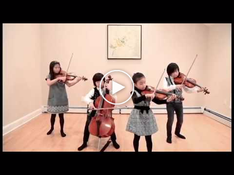 String Quartet of Kids