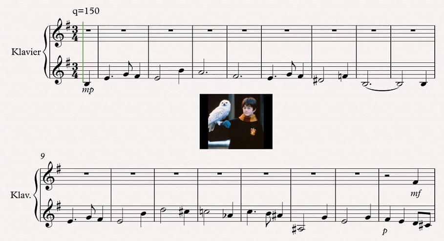 Harry Potter Theme Fugue