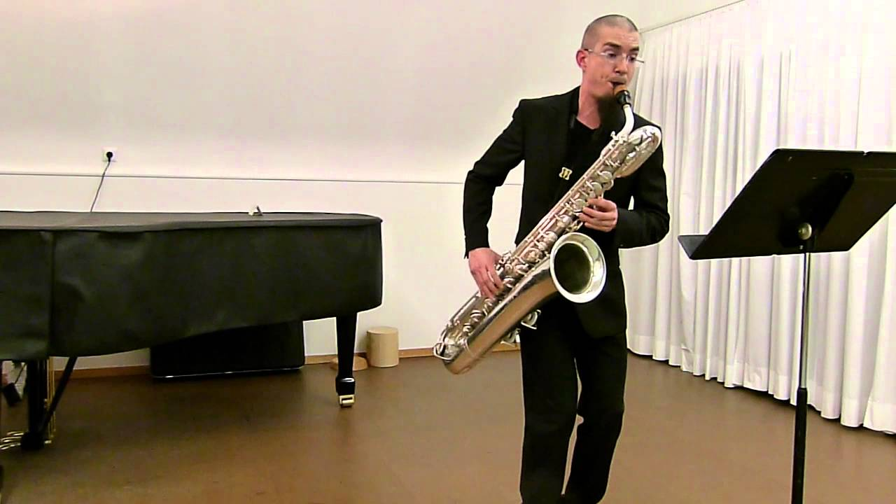 Bach Cello Suite Performed on Baritone Saxophone