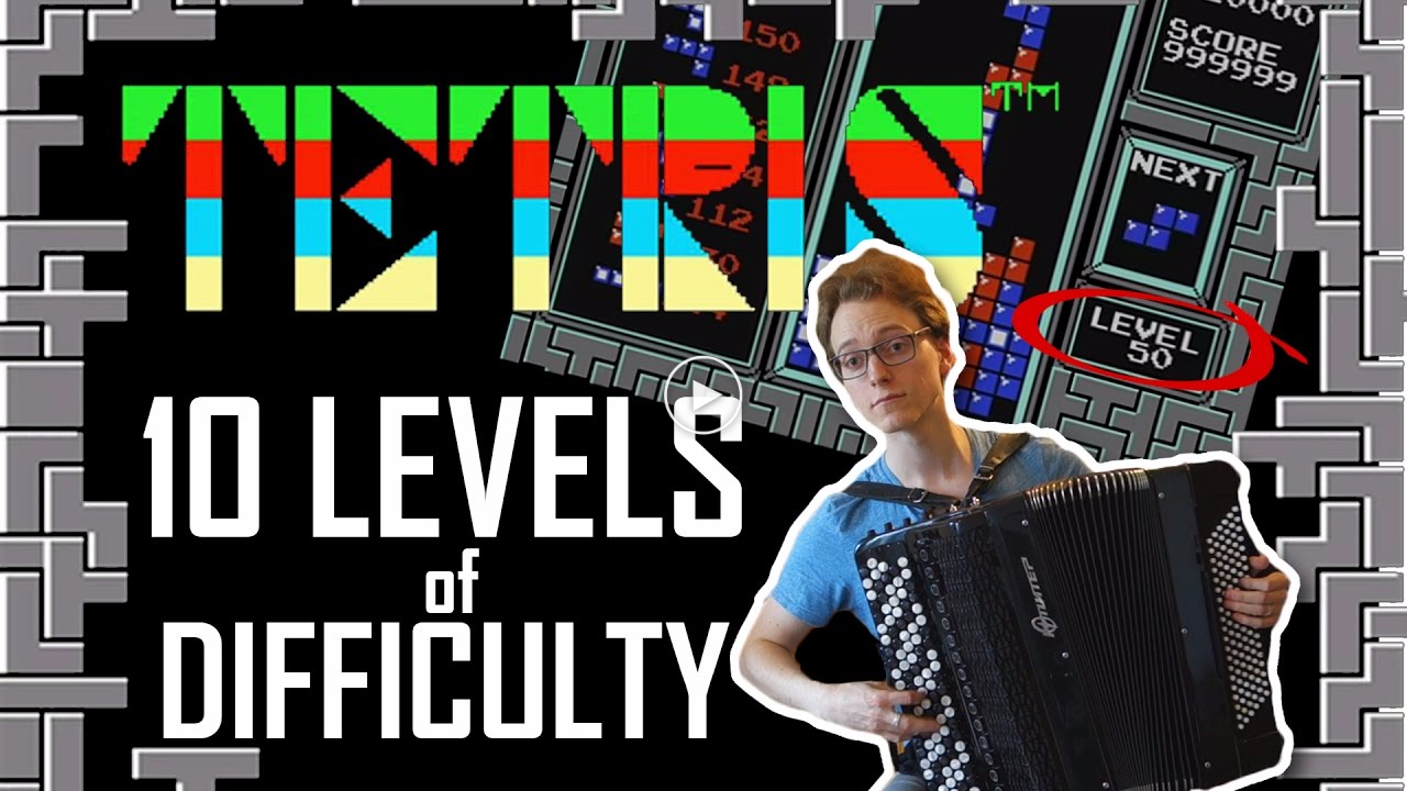 Tetris theme for 10 levels