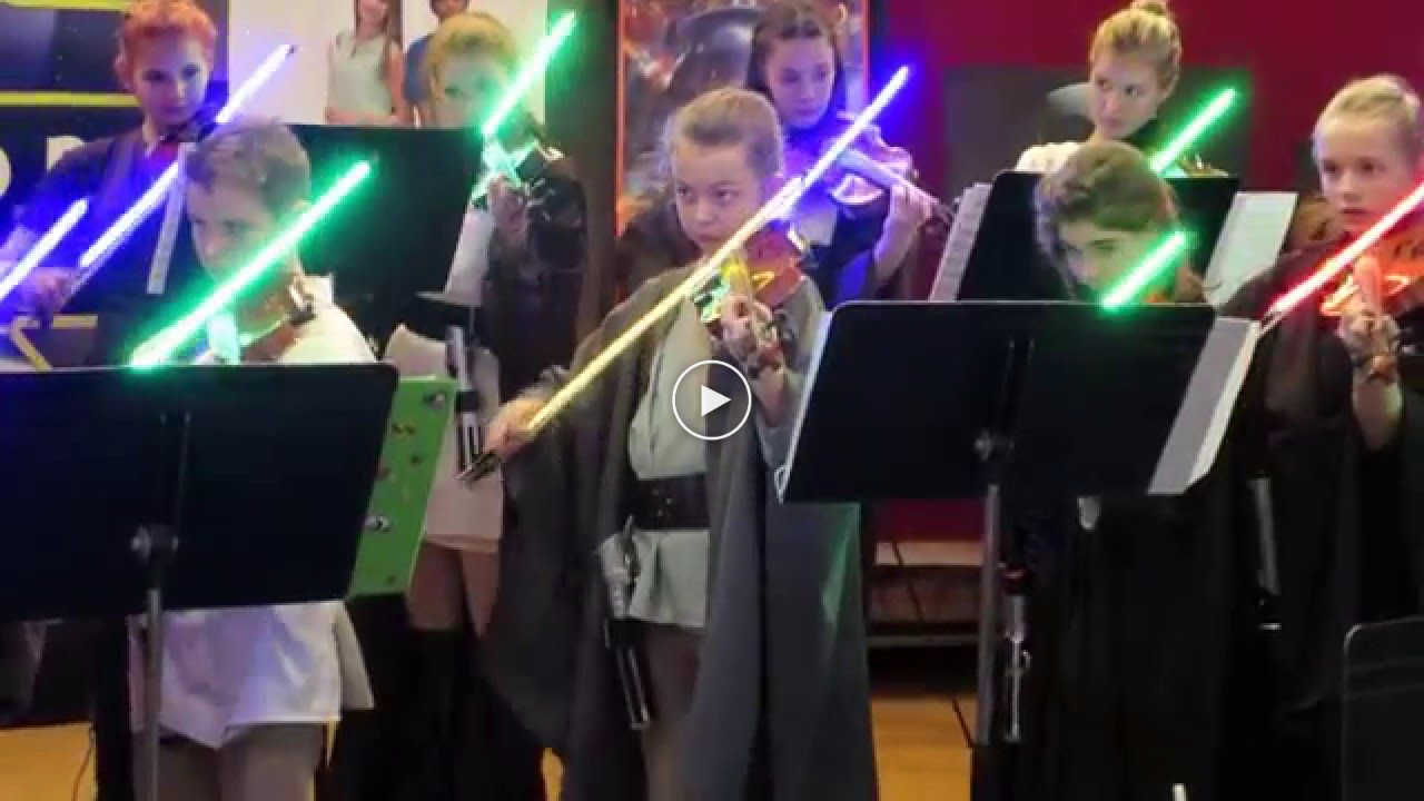 Pupils Perform Star Wars-themed Concert