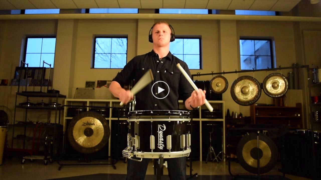 Solo Snare Drum Inspired by Shostakovich