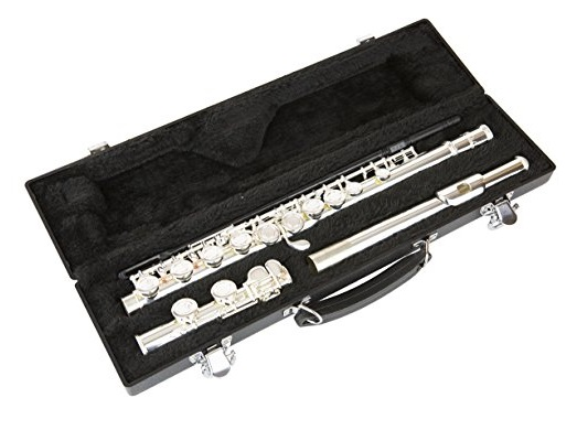 Lil Hutchen Silver C Flute with Hardshell Case