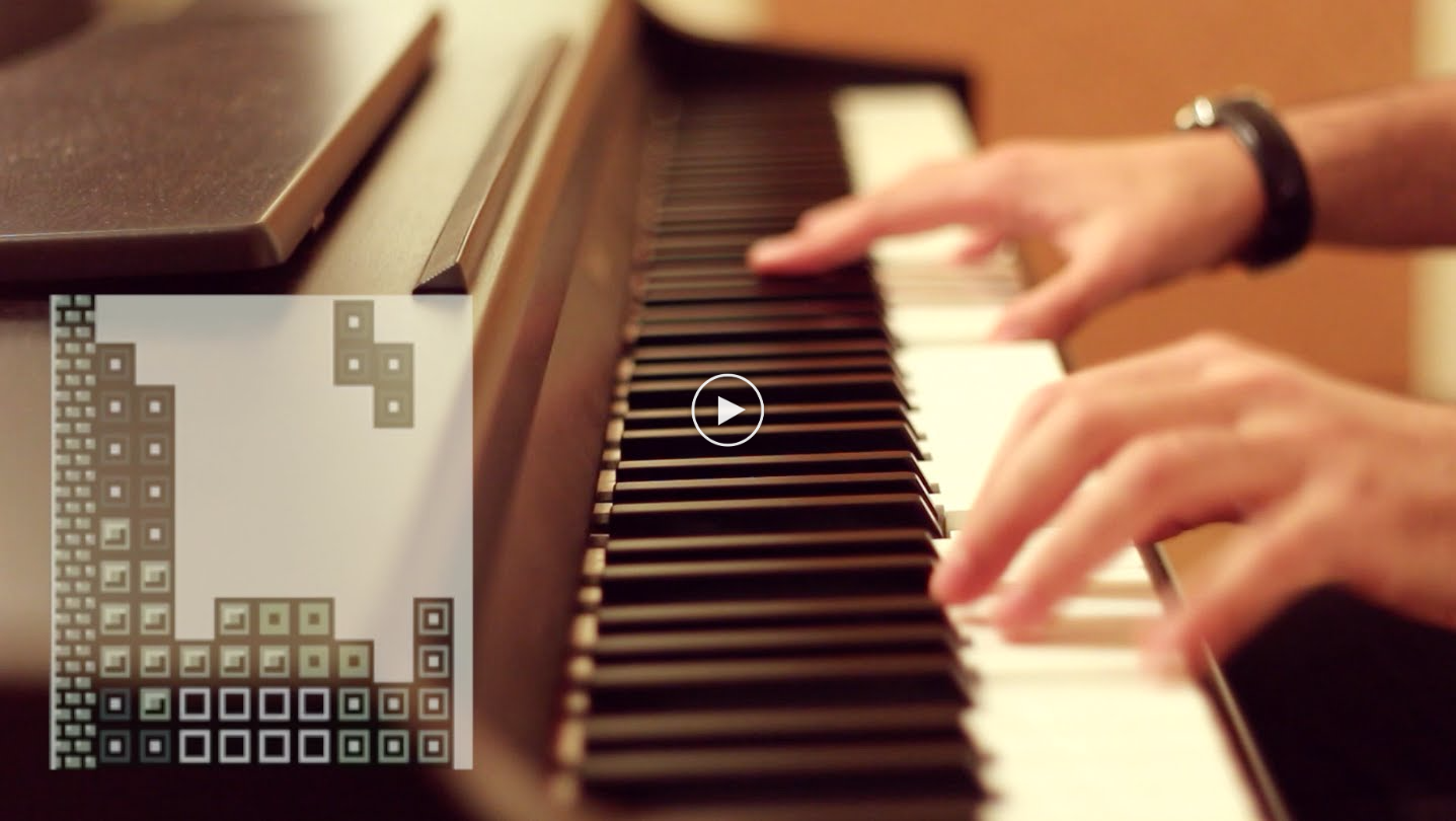 Tetris Theme In a Ragtime Piano Party