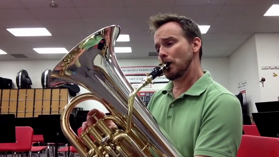 Euphonium Player Mixes it with a Sax Mouthpiece