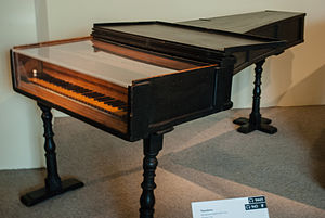 Cristofori piano in the Metropolitan Museum in New York