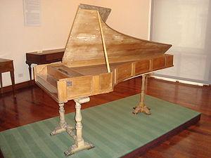 Cristofori piano in the Museo Nazionale degli Strumenti Musicali