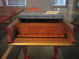 Cristofori piano in the Musikinstrumenten-Museum