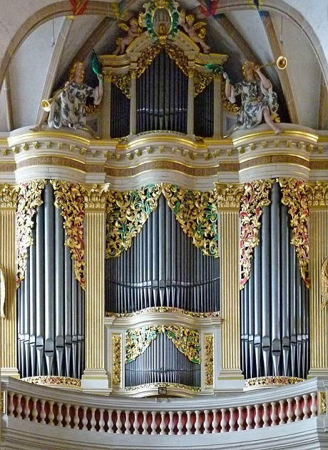 Gottfried Silbermann Organ