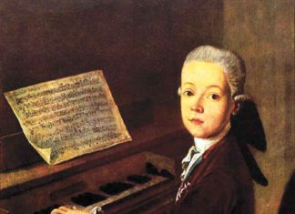 Mozart First Composition