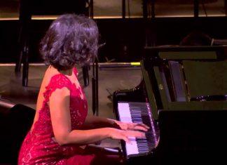 Katia Buniatishvili Performs Claude Debussy - Claire de lune